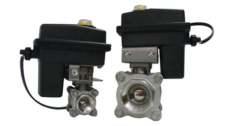 "1"" & 2"" Electric Ball Valves"