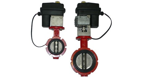 "3"" & 4"" Electric Butterfly Valves"