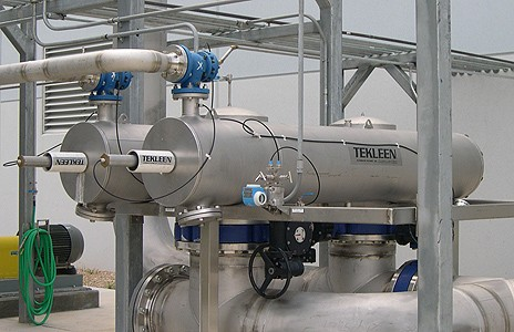 Food Industry Industrial Water Filters Automatic Self