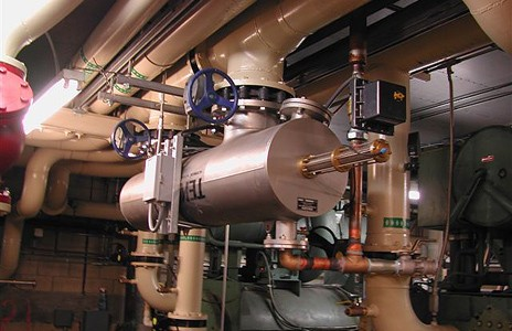 Hvac Industrial Water Filters Automatic Self Cleaning