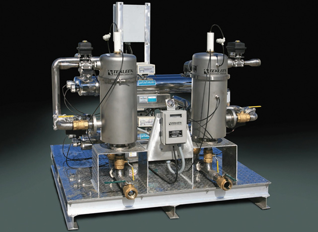 Skid Series Automatic Self Cleaning Industrial And